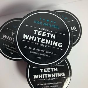 Charcoal teeth whitening 30g 100% natural